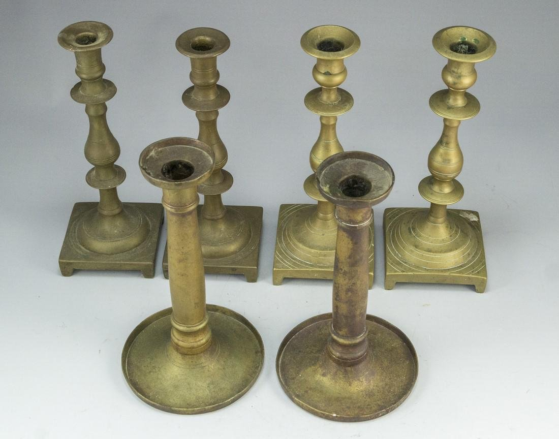 Bronze Candle Holders - 2