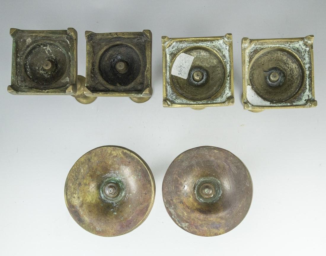 Bronze Candle Holders - 3