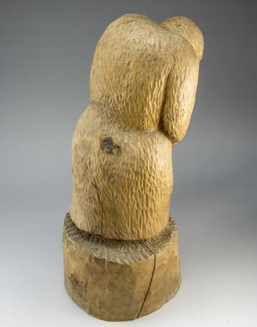 Wooden Sculpture - 2