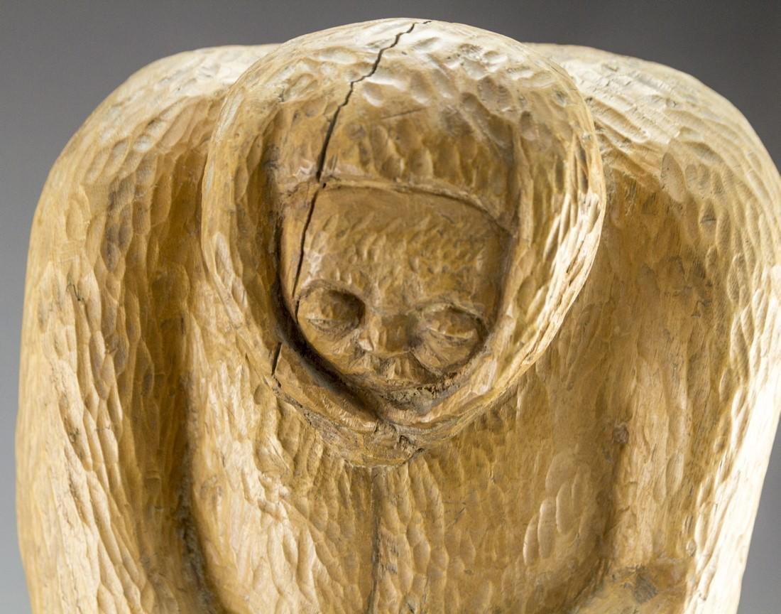 Wooden Sculpture - 4
