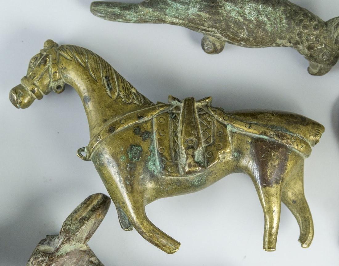 Lot of Bronze Figurines - 4