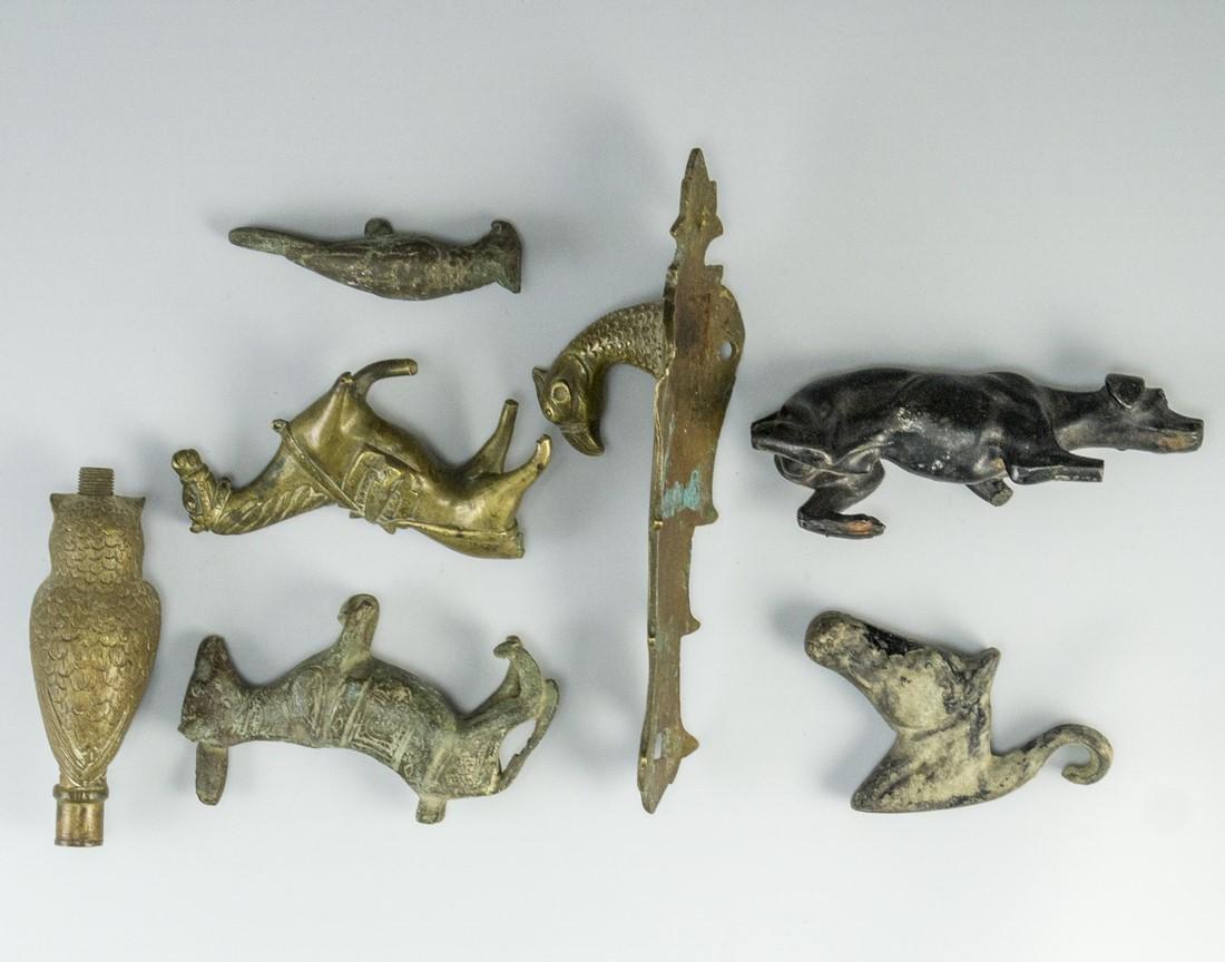 Lot of Bronze Figurines - 5