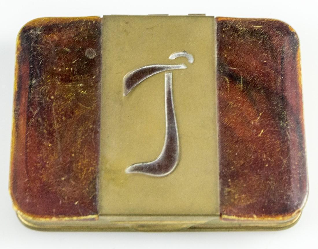 Tortoiseshell Cigarette Box