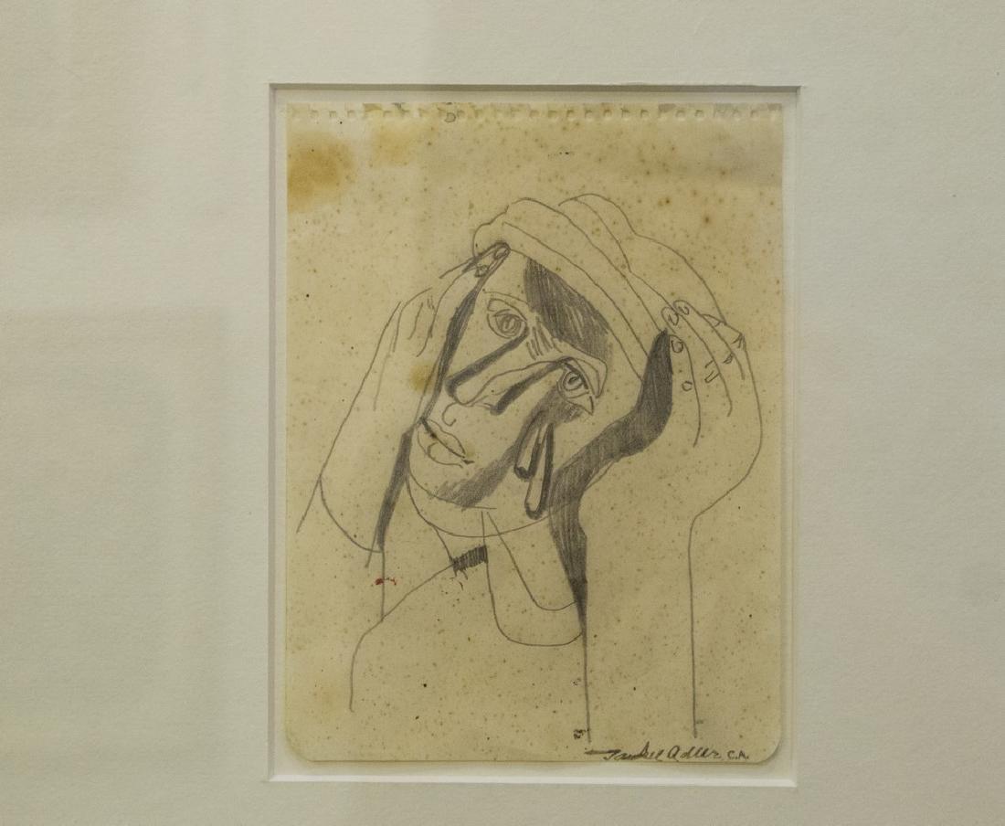 Jankel Adler (Jewish-Polish, 1895-1949) - 2
