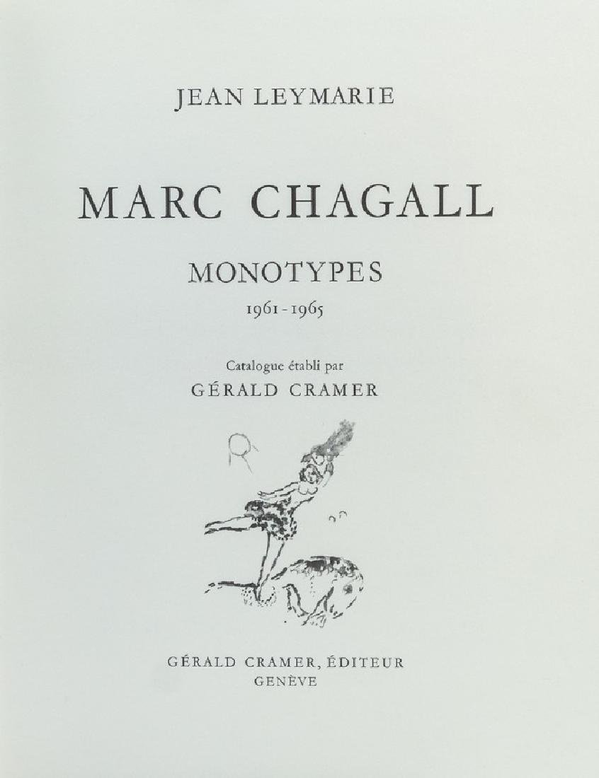 Marc Chagall, Monotypes - 2