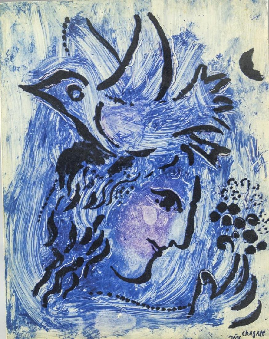 Marc Chagall, Monotypes - 4
