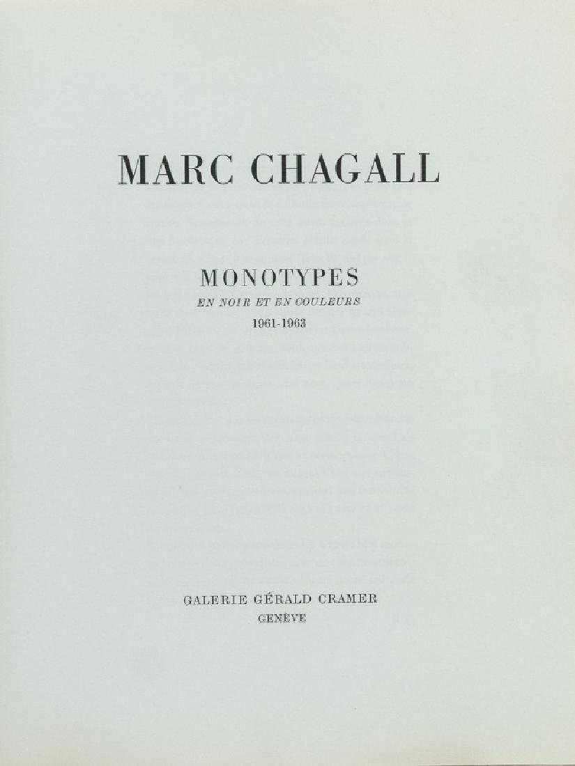 Marc Chagall, Monotypes - 5