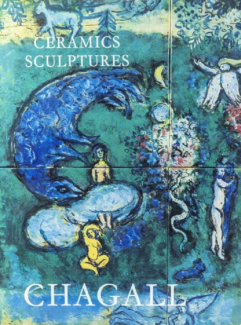 Chagall Ceramic Sculptures