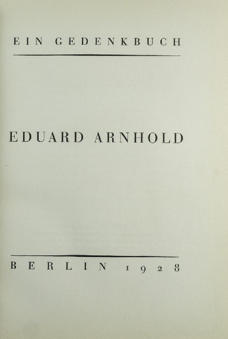 Eduard Arnhold, Ein Gedenkbuch - 2