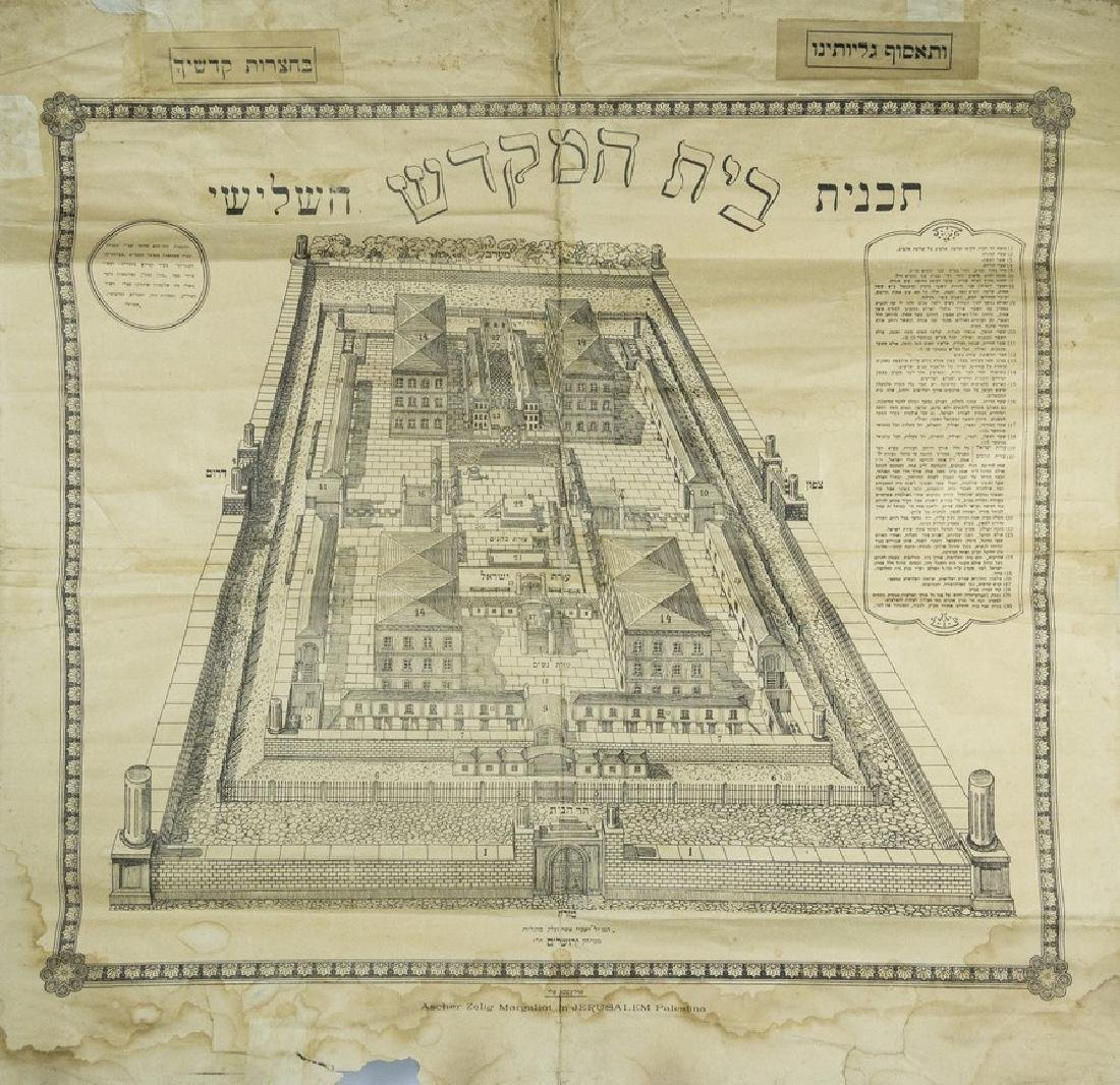 Plan of the Third Temple