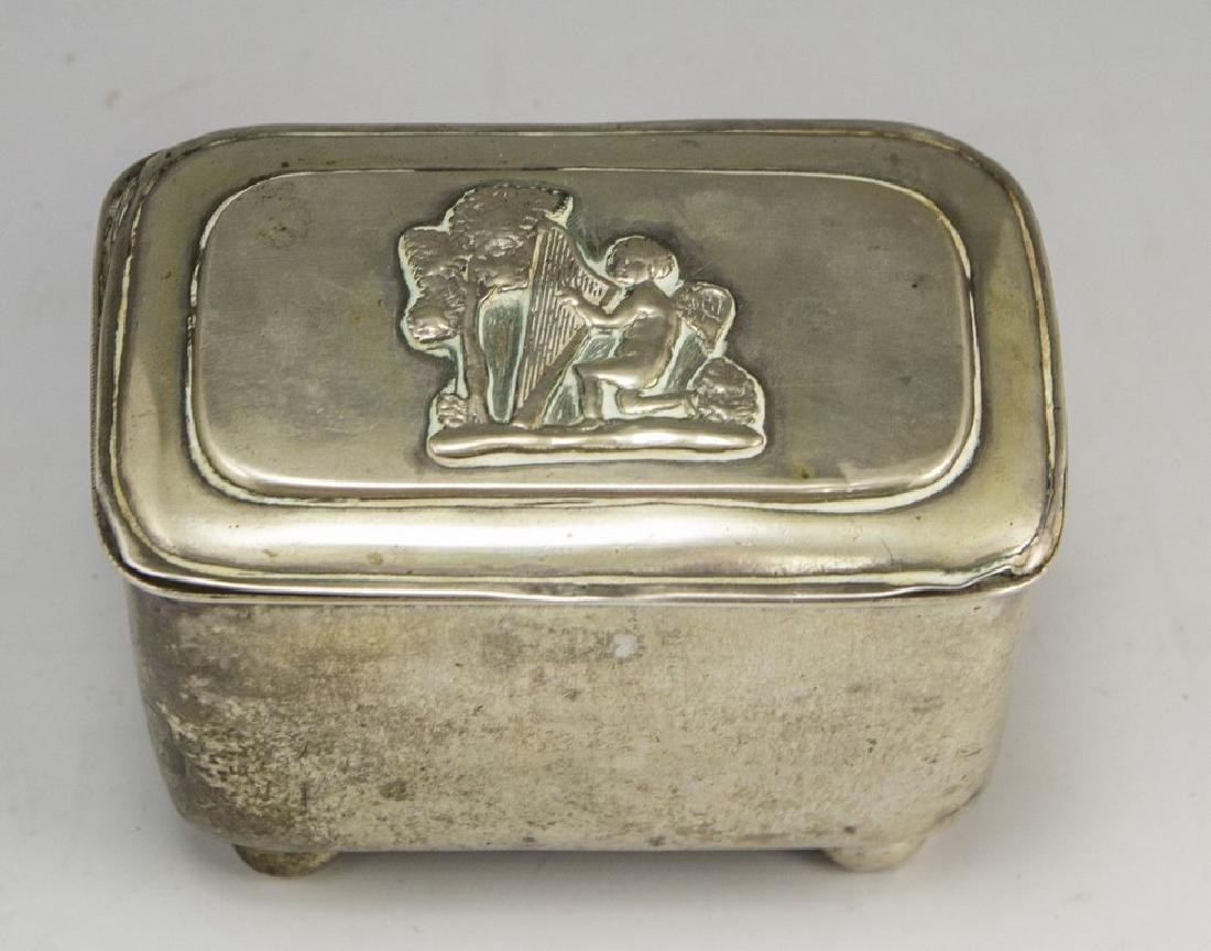 German Silver Box