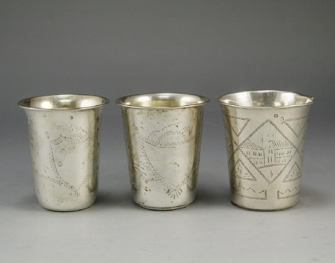 Lot of Silver Cups