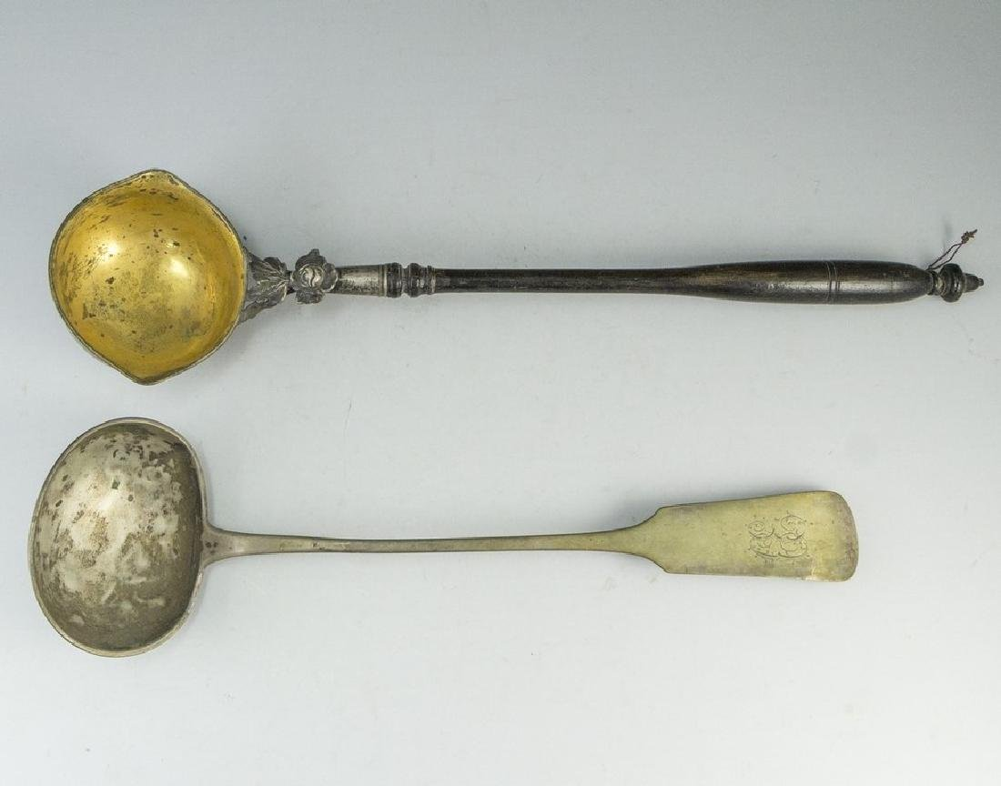 Lot of Silver Ladles