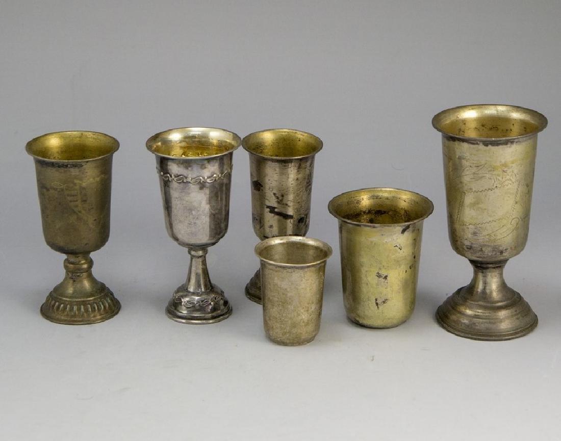Silver Kiddush Cups