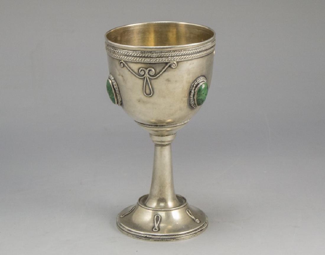 Silver Kiddush Cup