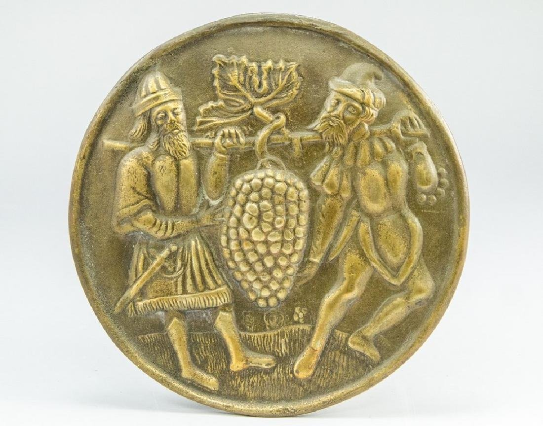 Dutch Bronze Plaque, The Spies