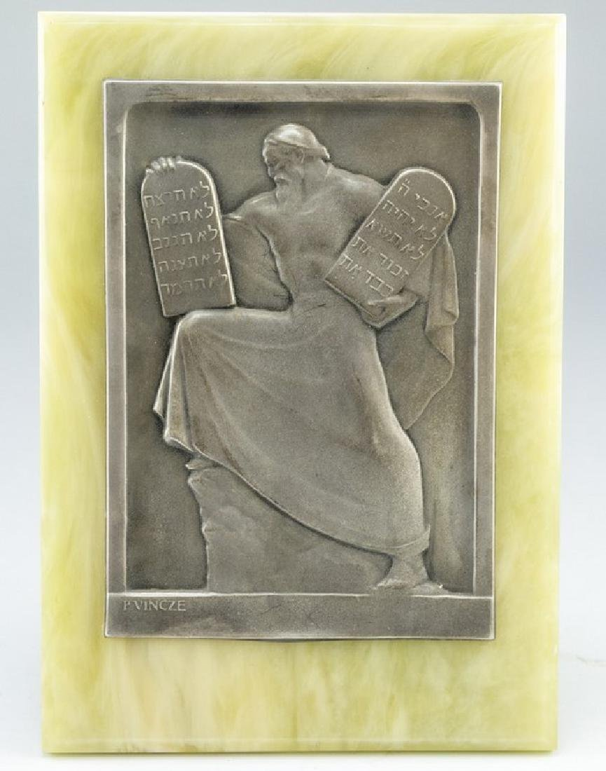Silver Plaque, Moses