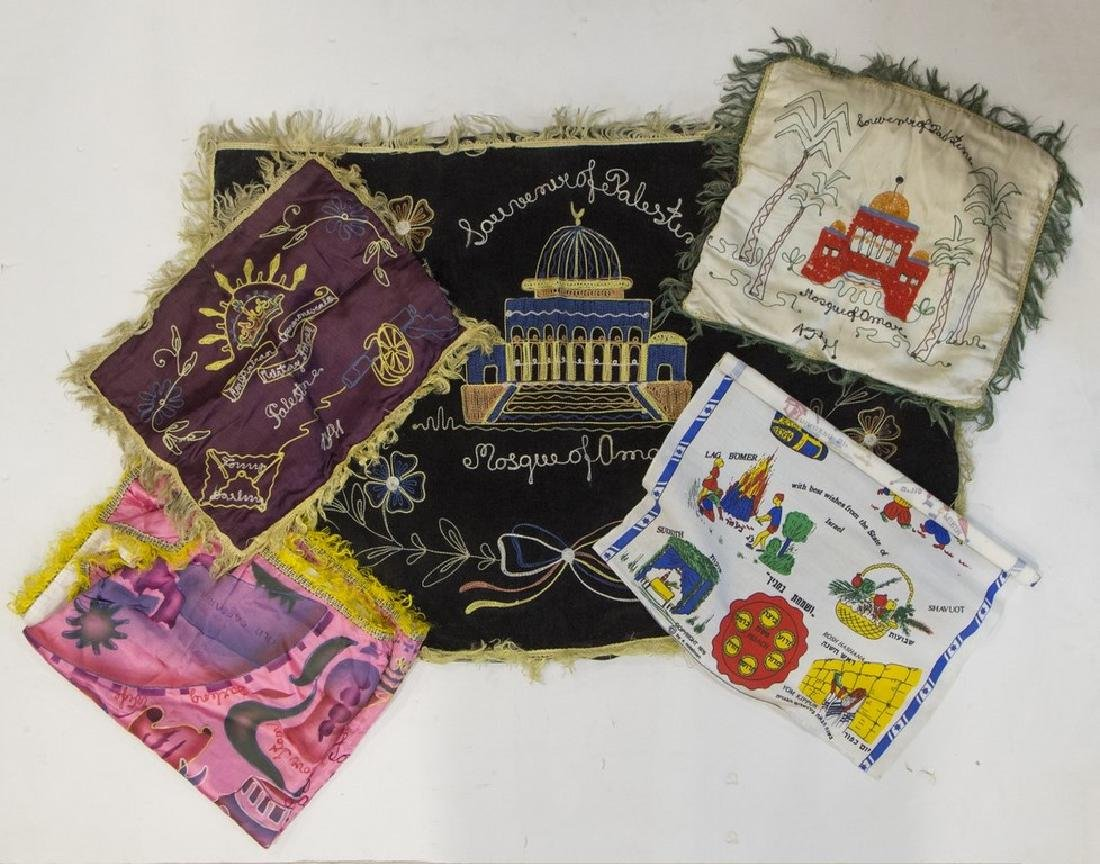 Lot of Embroideries, Souvenirs of Palestine