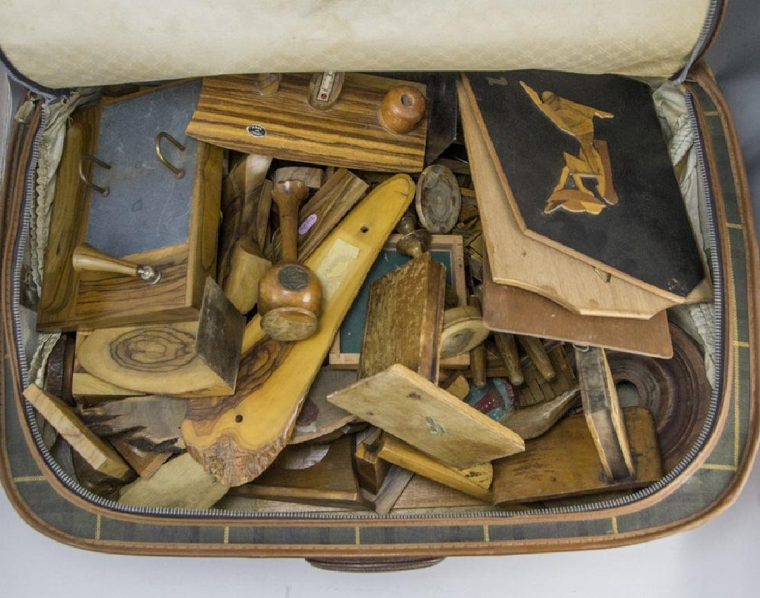 Lot of Jerusalem Olivewood Items