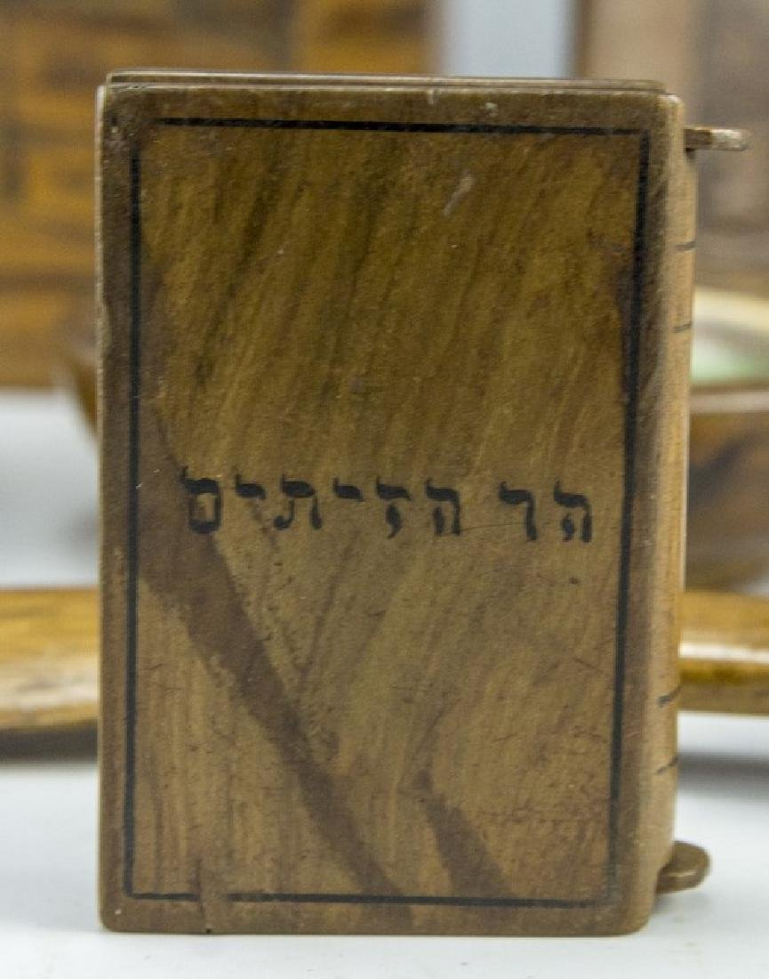Lot of Jerusalem Olivewood Items - 6