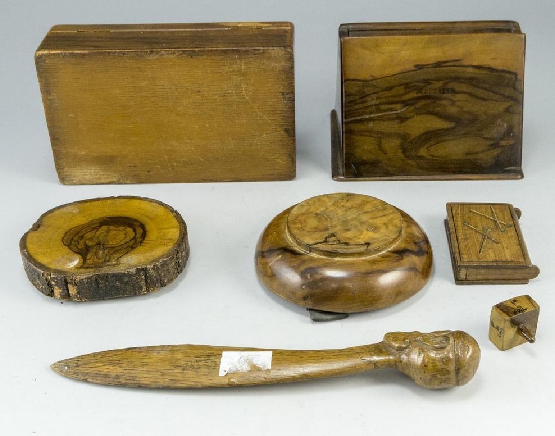 Lot of Jerusalem Olivewood Items - 8