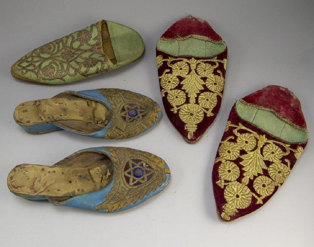 Lot of Moroccan Shoes