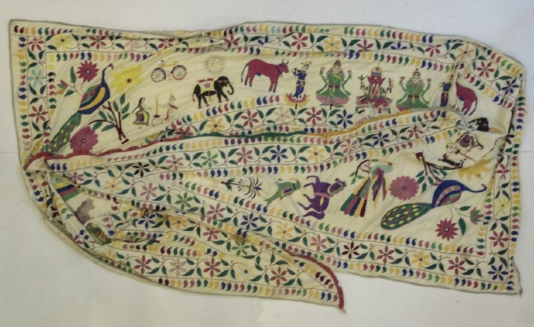 Indian Fabric Decoration