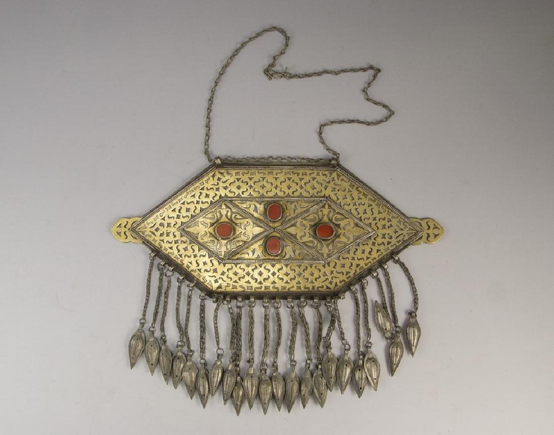 Turkmen Silver Jewel