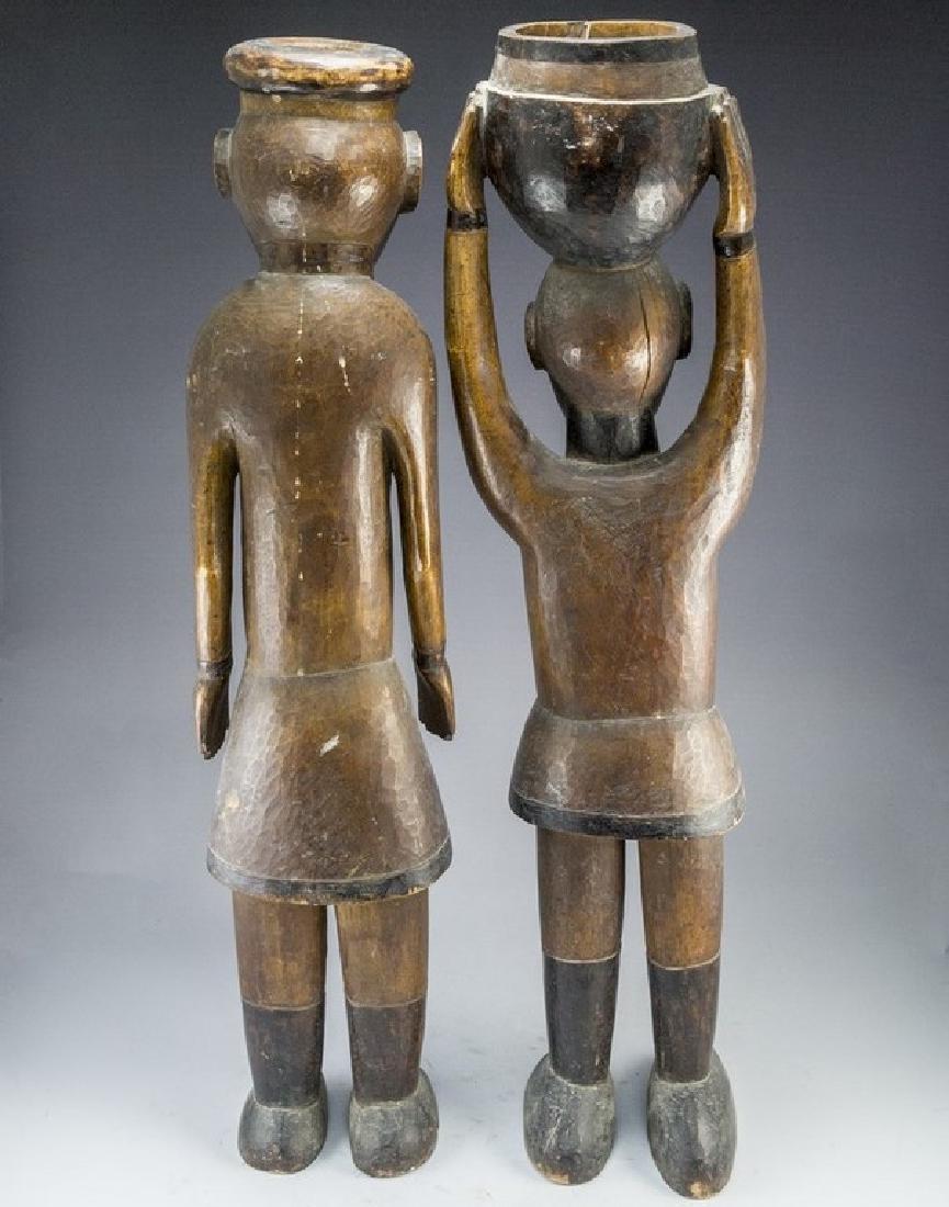 African Wooden Sculptures - 2