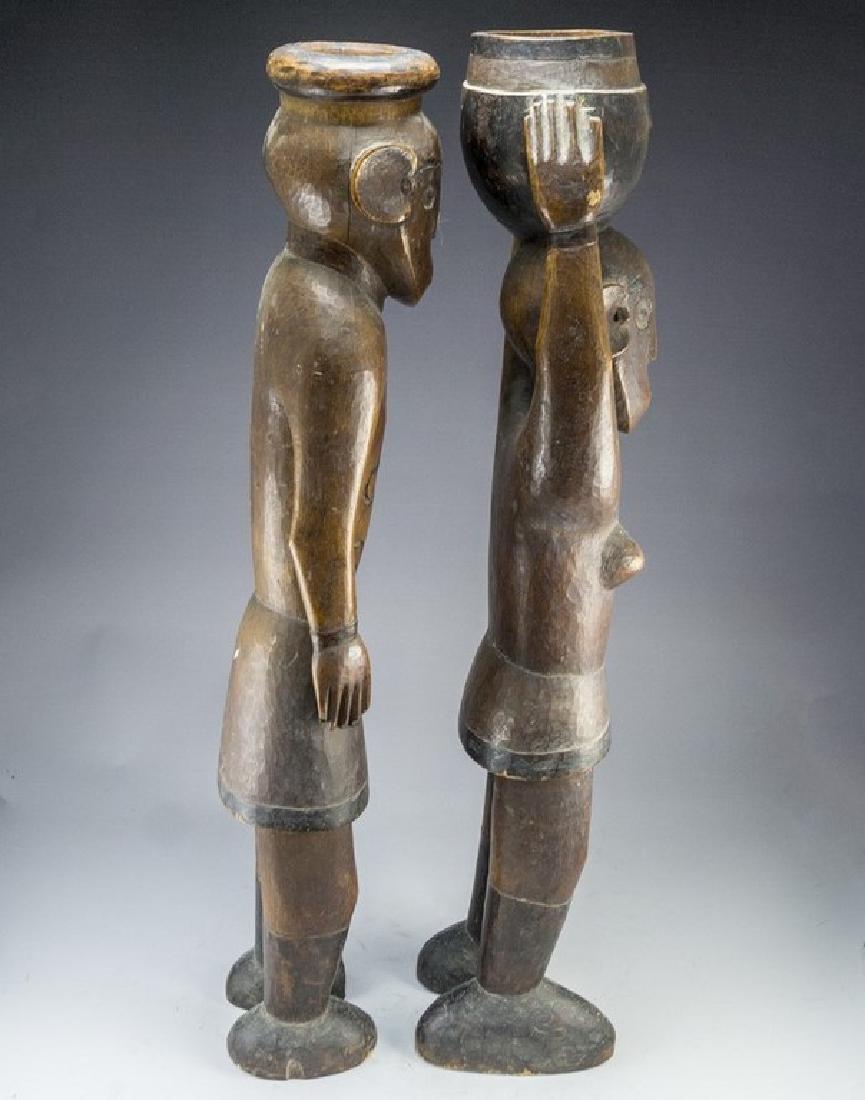 African Wooden Sculptures - 3