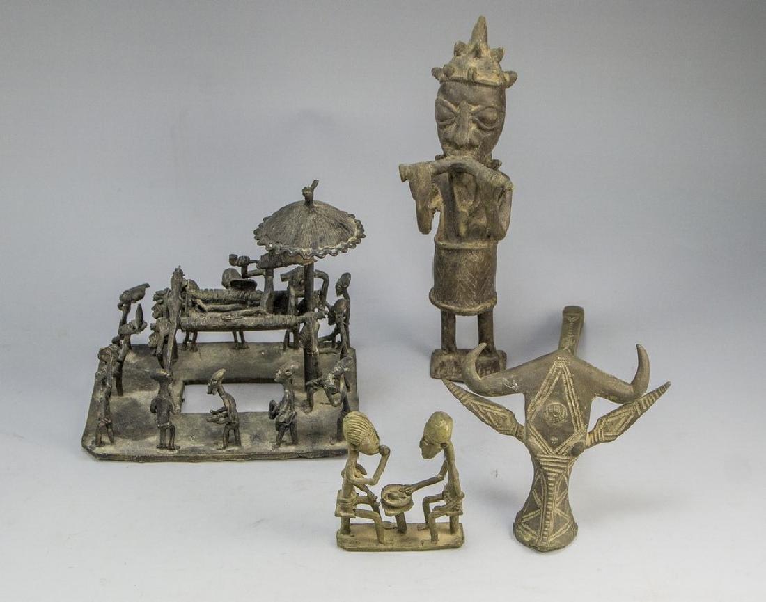 African Brass Sculptures