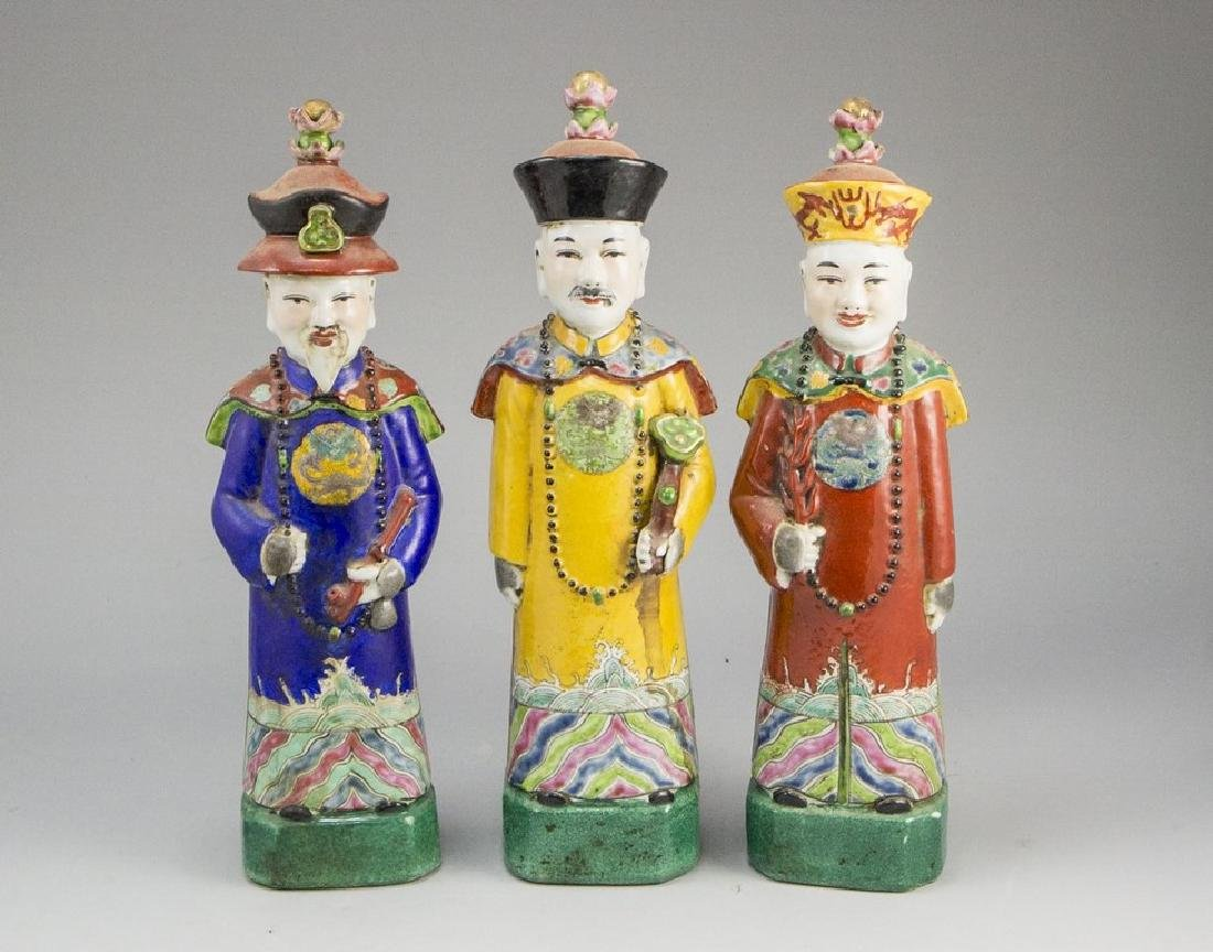Lot of Chinese Porcelain Figurines