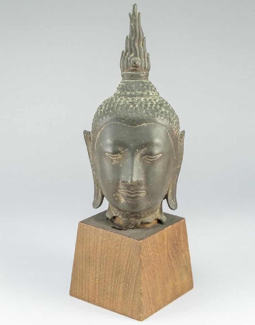 Buddha Head Sculpture