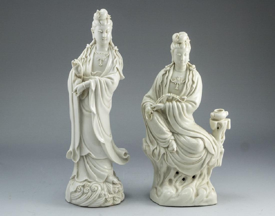Pair of Chinese Porcelain Figurines