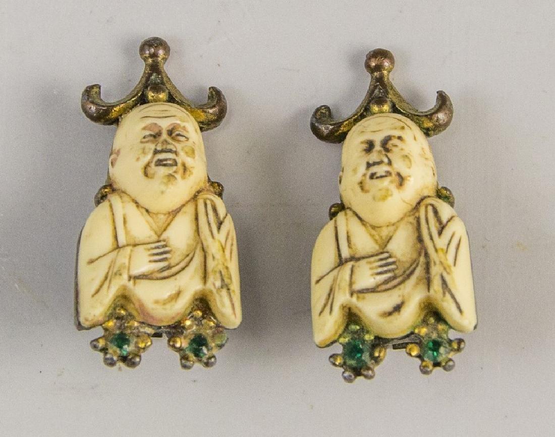 Pair of Chinese Earrings