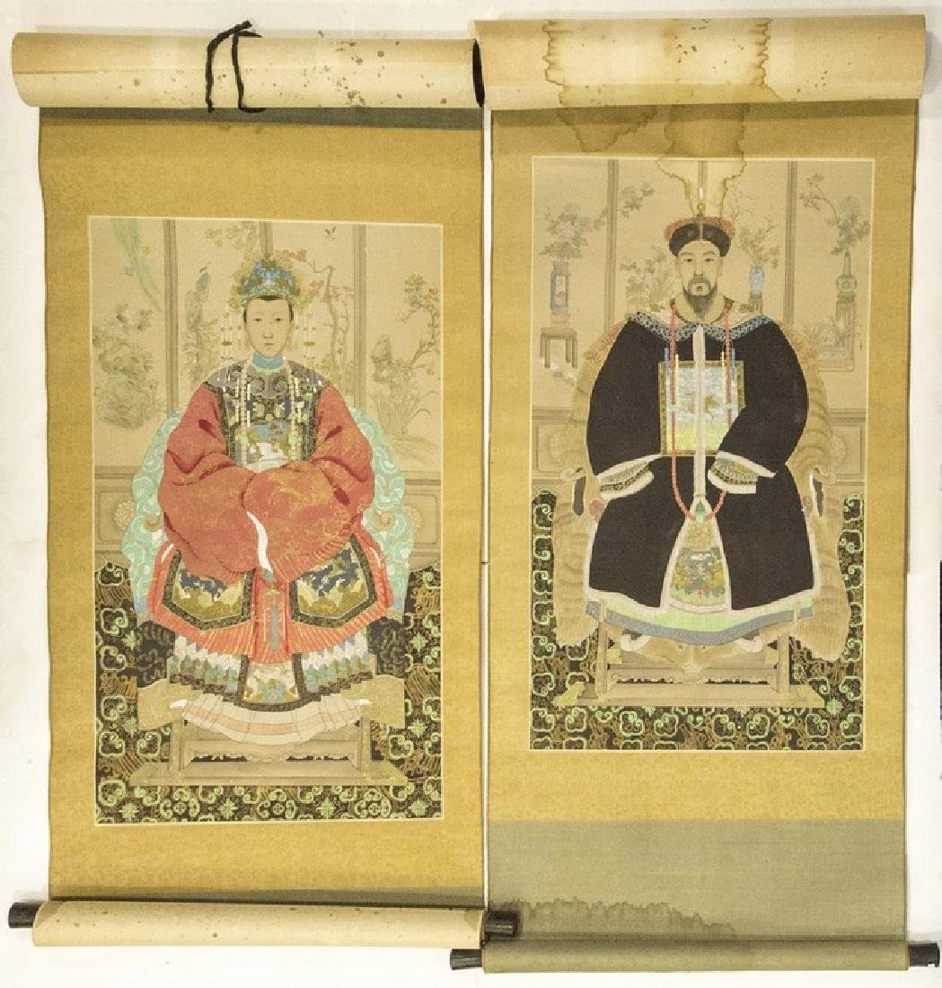 Pair of Chinese Drawings
