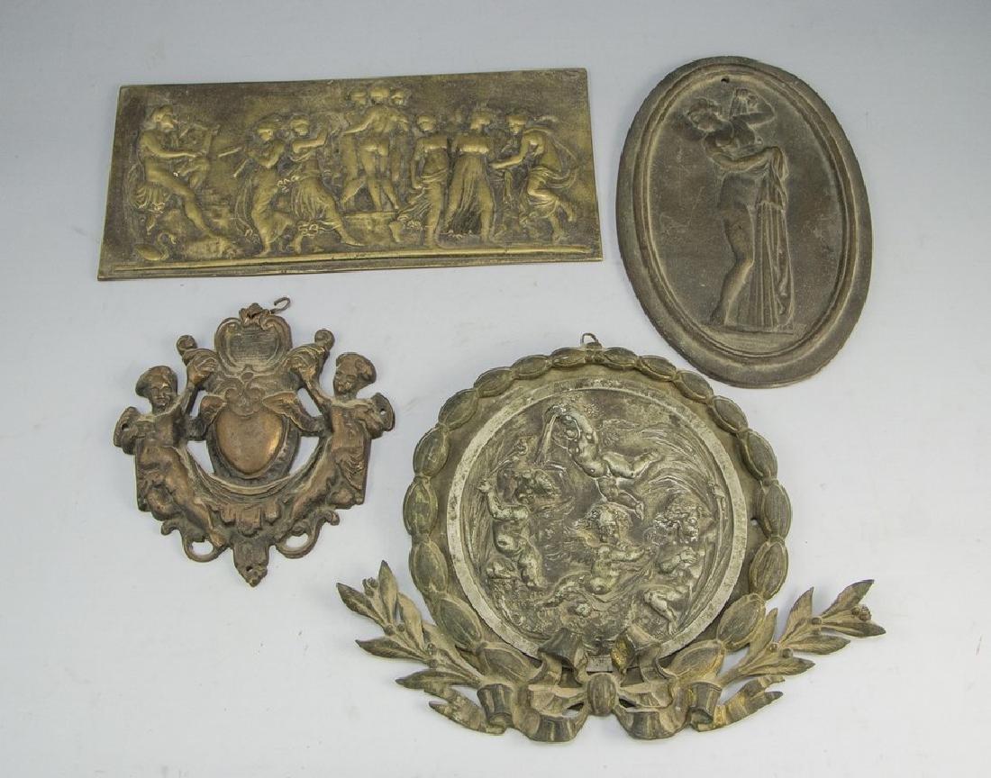 Lot of Bronze Reliefs