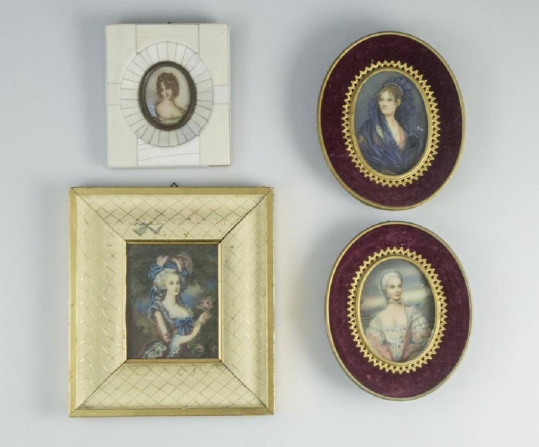 Lot of Miniature Paintings