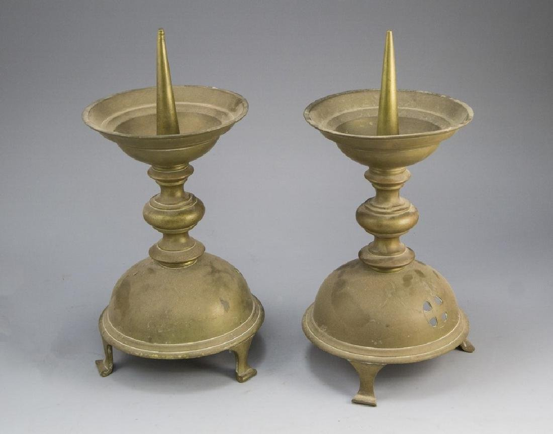 Pair of Church Candlesticks