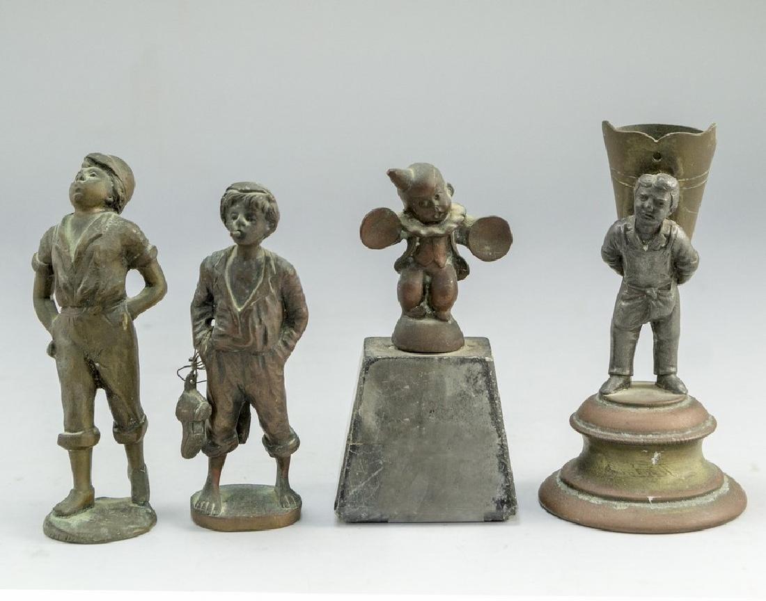Lot of Bronze Sculptures