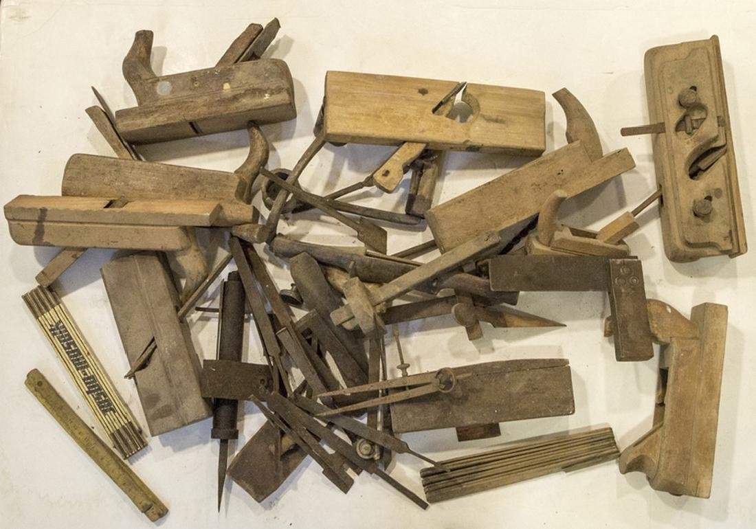Lot of Carpentry Tools