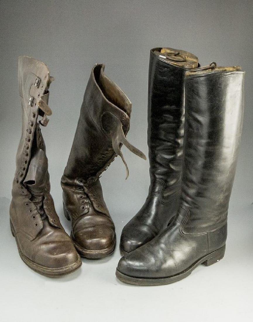 Lot of Boots and Molds