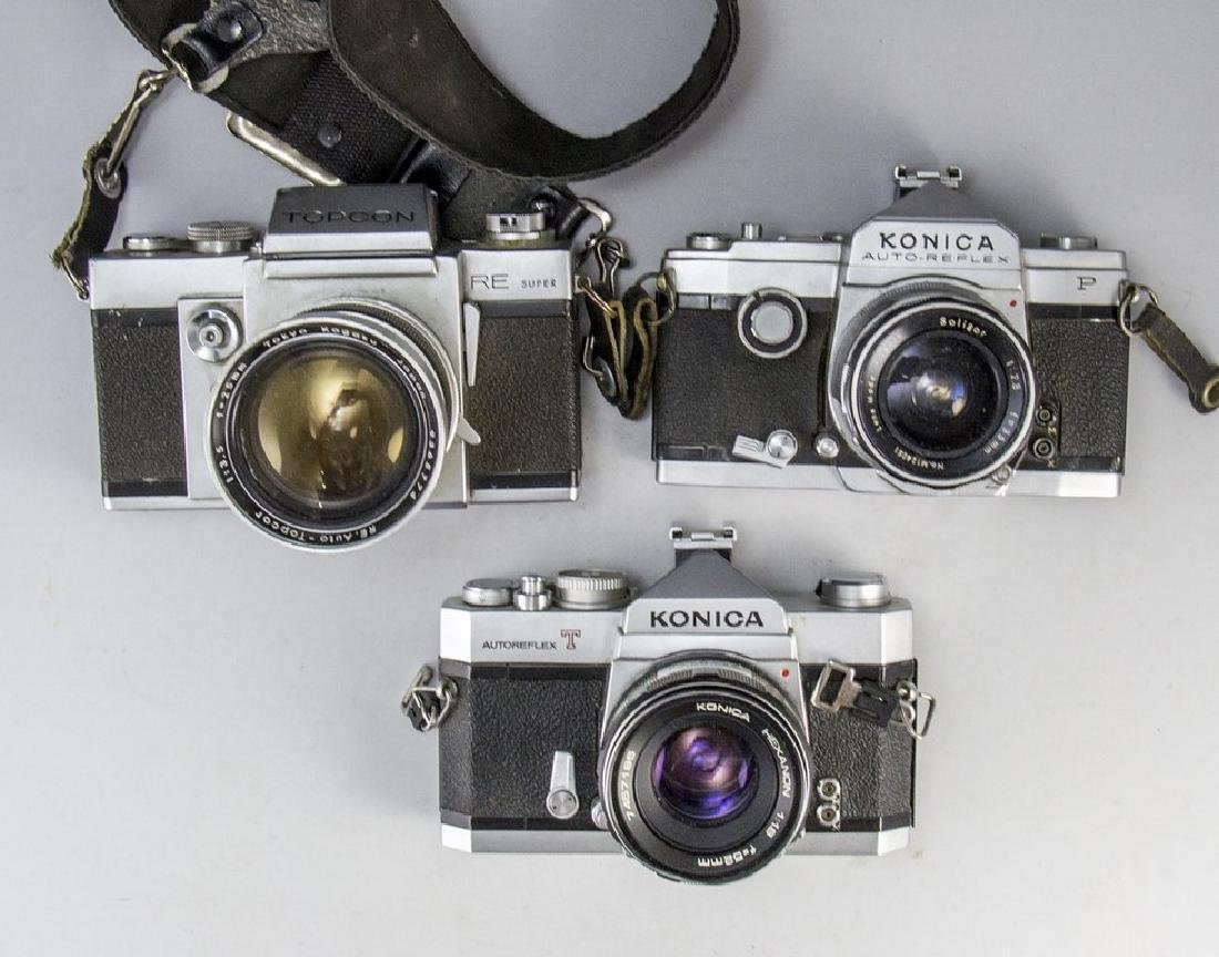 Lot of Japanese Cameras