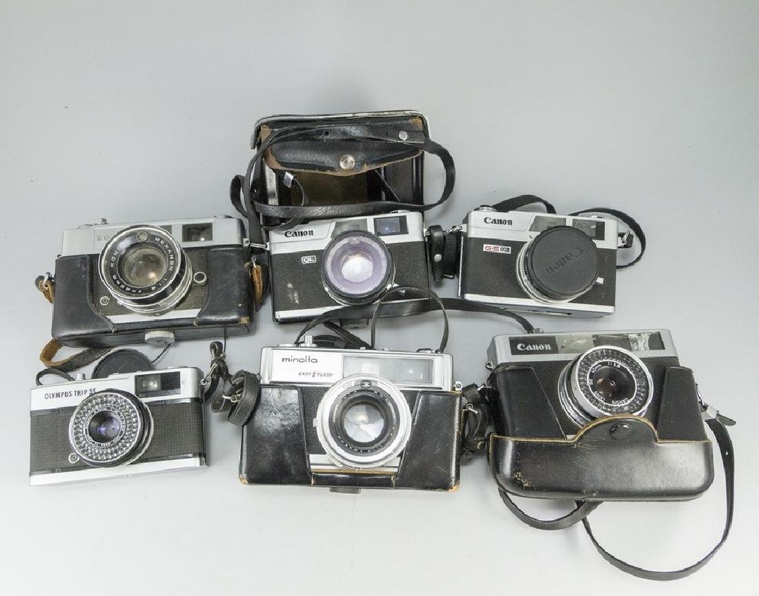 Lot of Range Finder Cameras
