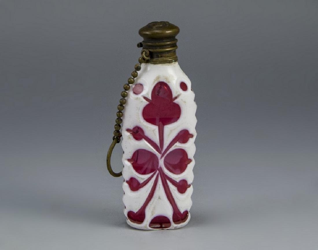 Bohemian Glass Perfume Bottle