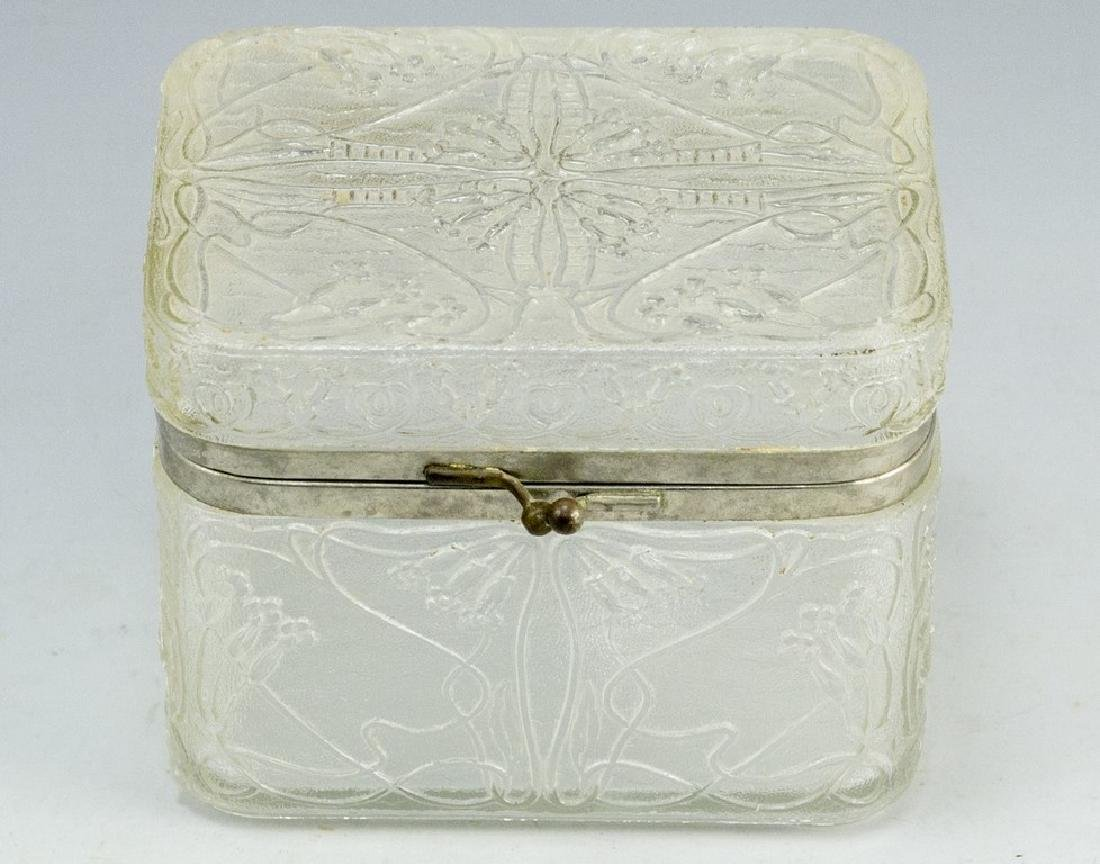 Art-Nouveau Glass Box