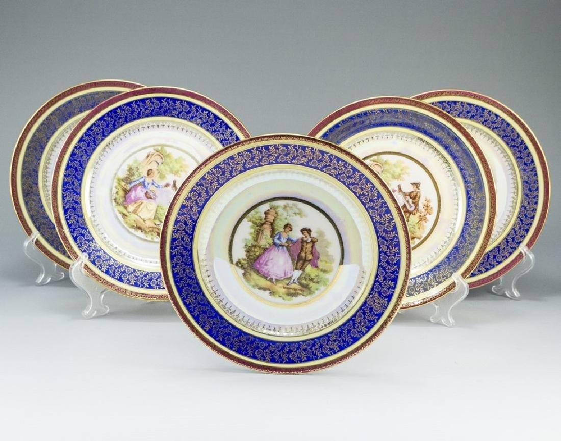 Lot of Porcelain Plates, Rosenthal