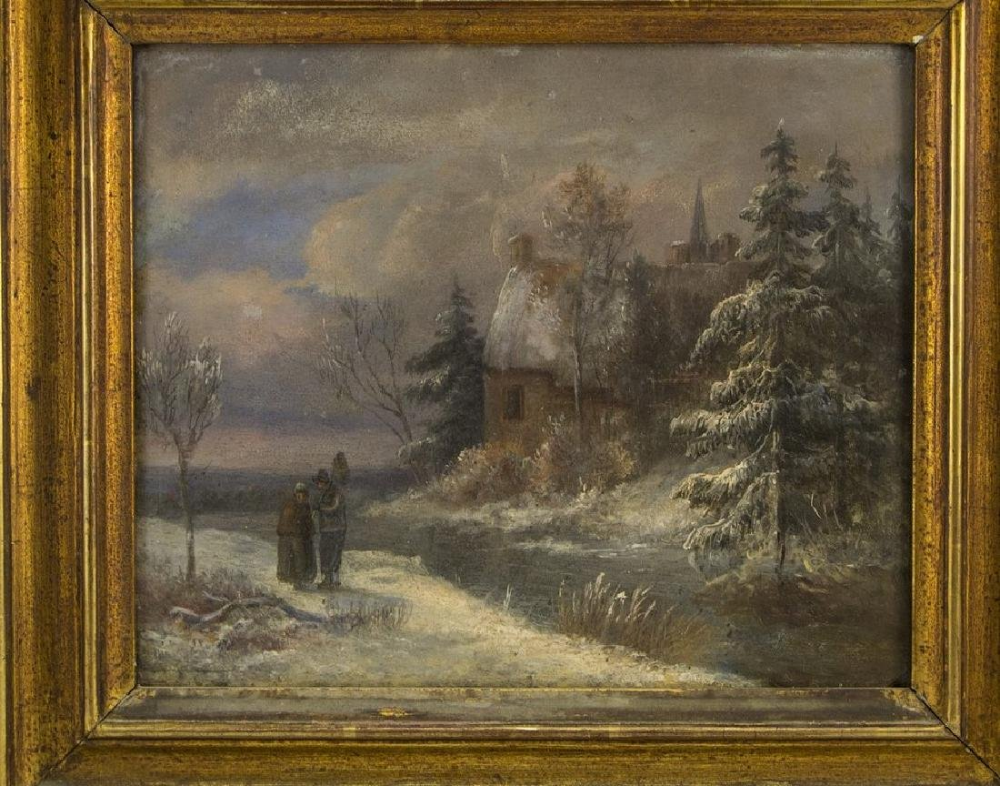 Unknown Artist, Winter Landscape