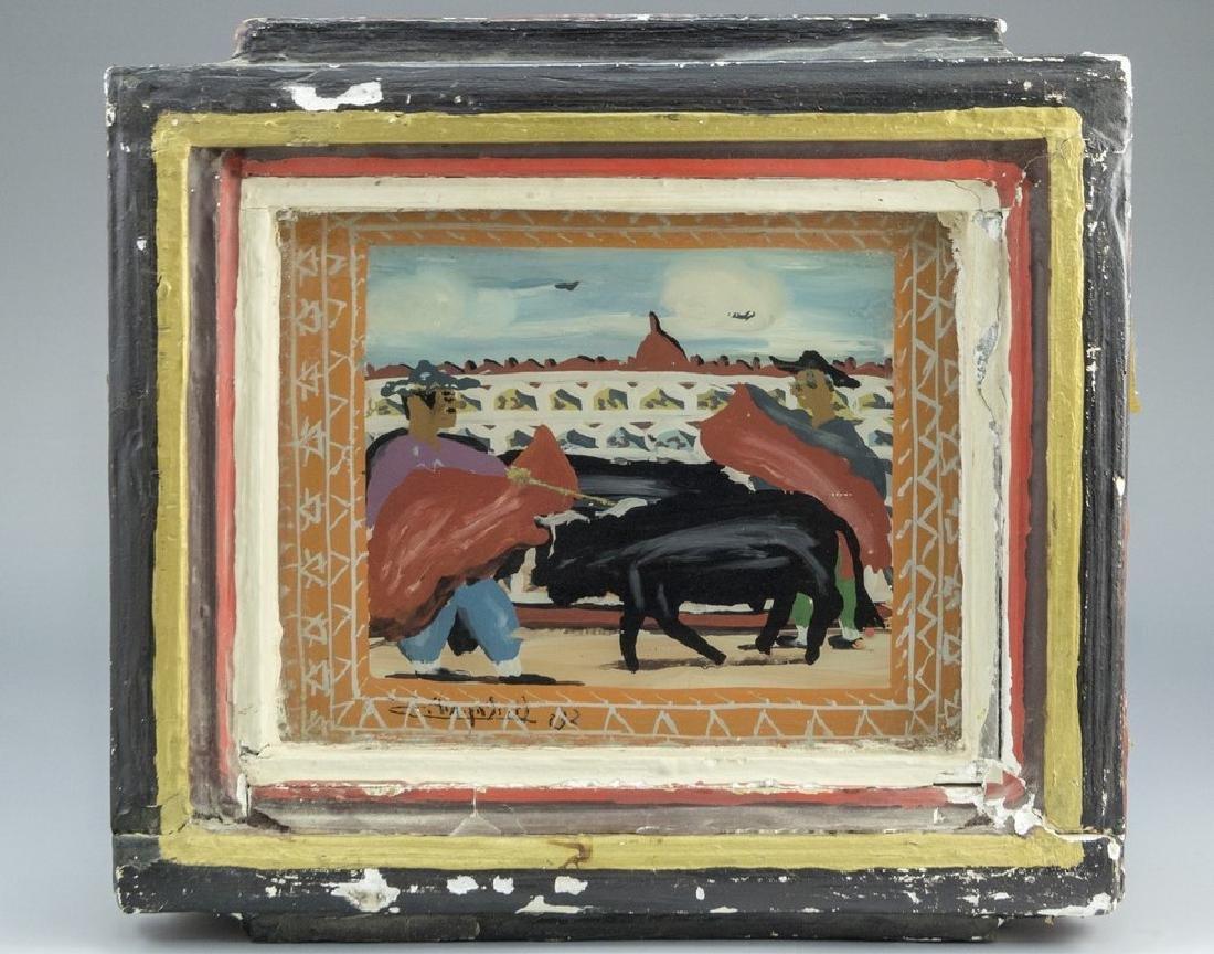 Unidentified Artist, Bullfight
