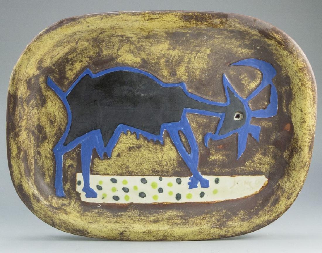 Marcel Janco, Ceramic Tray